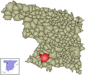 Bermillo de Sayago en la provincia de Zamora